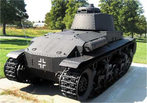 Panzer 35(t)— экспонат военного музея на Абердинском полигоне в США.