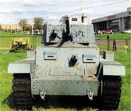 Panzer 38(t) Ausf.G в экспозиции Музея Великой Отечественной войны в Москве.