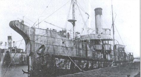 Спасательный буксир «Черномор» у причала