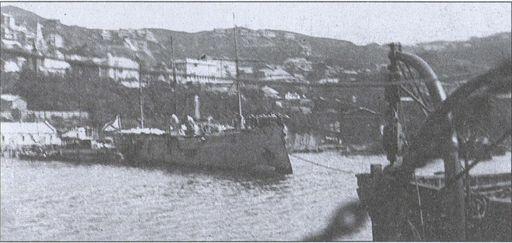Канонерская ходка «Манджур». Владивосток. 1922г.