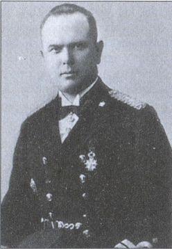 Контр-адмирал Ф.Ю. Спаде — командующий латвийским флотом в 1930–1940гг.