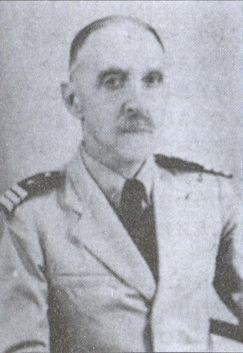 Капитан 1-го ранга князь Я.К. Туманов в форме парагвайского флота