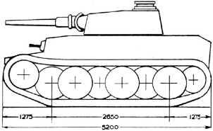 Проект фирмы Krupp — VK2001 (К).