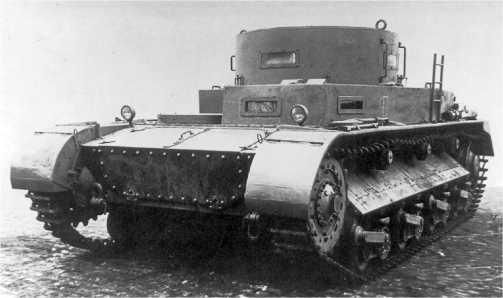 Прототип фирмы Rheinmetall VK 2001(Rh), 1935 год.