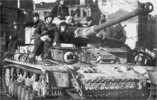 Pz.IV Ausf.H болгарской армии. София, 1944 год.