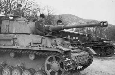 Pz.IV Ausf.G хорватских сил самообороны. 1944 год.