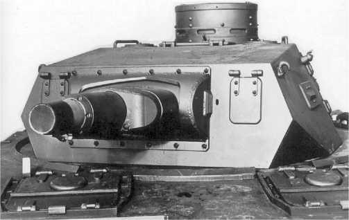 Башня танка Pz.IV Ausf.A. Следует отметить, что за время серийного производства конфигурация башни практически не изменилась.