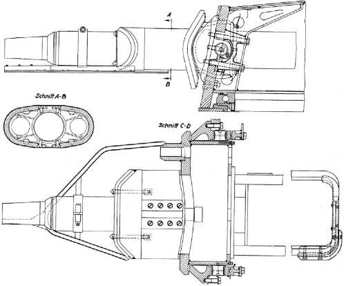 Установка 75-мм пушки KwK 37 (L/24).