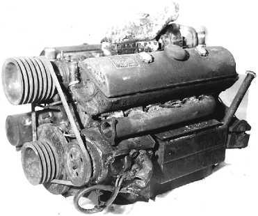 Двигатель Maybach HL 108TR.