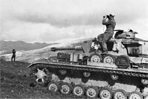 Pz.IV Ausf.G, 10-я танковая дивизия, Тунис, 1943 год.