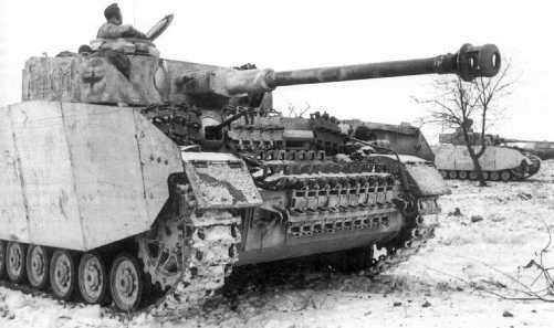 Pz.IV Ausf.H. Восточный фронт, декабрь 1943 года.