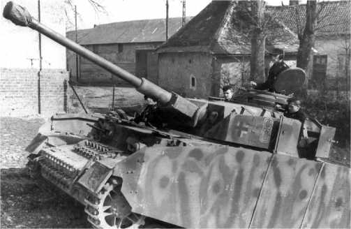 Pz.IV Ausf.H из состава 3-го танкового полка 2-й танковой дивизии. Франция, 1944 год.
