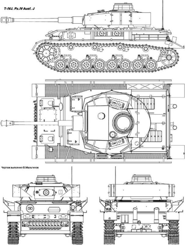 T-IVJ. Pz.IV Ausf.J.