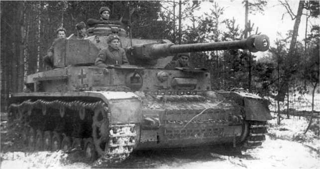 Pz.IV Ausf.H с советским экипажем. 1943 год.
