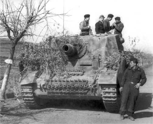 Штурмовой танк «Бруммбер» первой производственной серии. Восточный фронт, весна 1944 года.