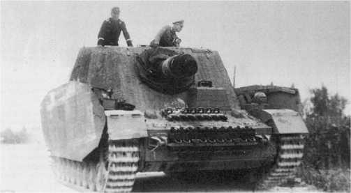 «Бруммбер» второй серии (так называемых средних выпусков) из состава 216-го батальона штурмовых танков.