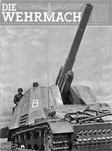 Обложка журнала «Die Wermacht» от 18 августа 1943 года.