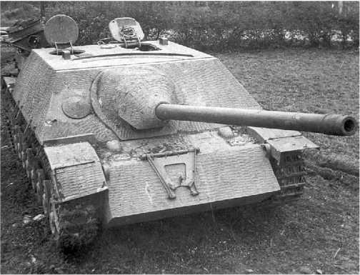 Истребитель танков Panzer IV/70 производства фирмы Vomag.