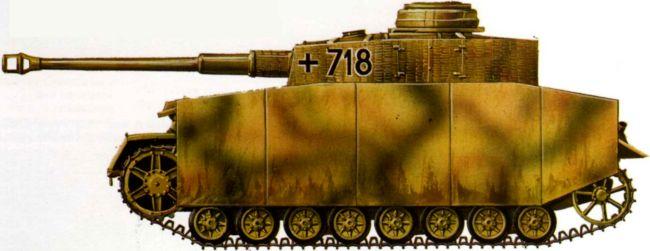 Pz.IV Ausf.H. 12-я танковая дивизия СС «Гитлерюгенд», Франция, 1944 год.