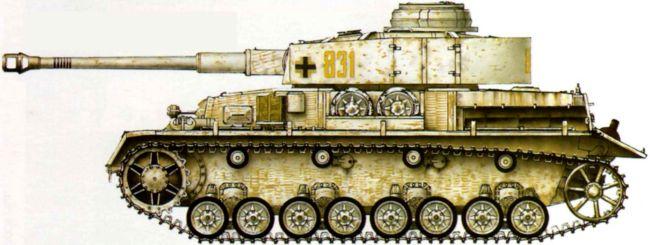 Pz. IV Ausf.H. 31-й <a href='https://arsenal-info.ru/b/book/1627328415/40' target='_self'>танковый полк</a> 5-й танковой дивизии. Кенигсберг, апрель 1945 года.