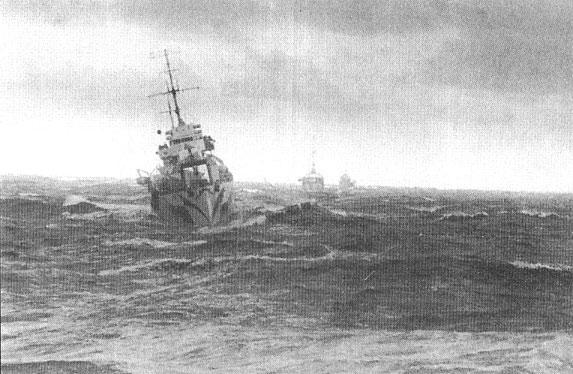 Последняя военная навигация в Арктике