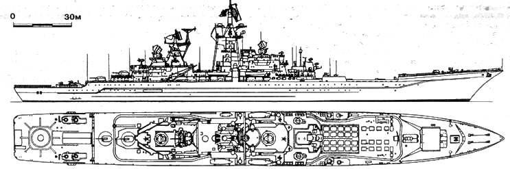 Тяжелый атомный ракетный крейсер «КИРОВ»
