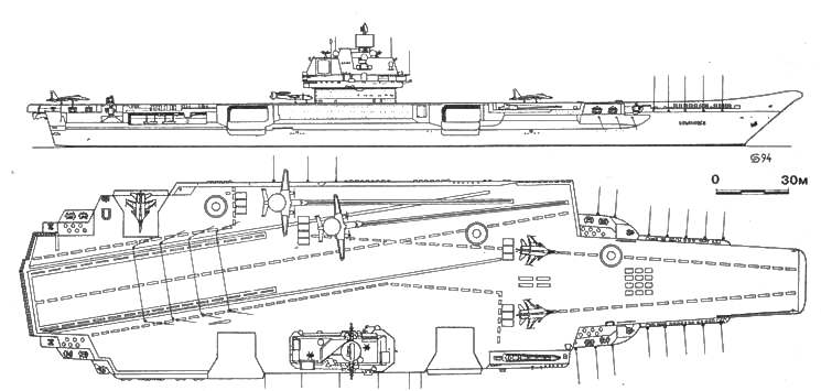 Тяжелый авианесущий крейсер «УЛЬЯНОВСК»