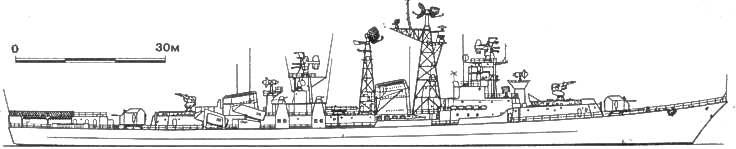БОЛЬШИЕ ПРОТИВОЛОДОЧНЫЕ КОРАБЛИ   Большие противолодочные корабли типа «Комсомолец Украины» (проект 61) - 20 единиц