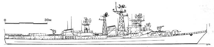Большой противолодочный корабль «ГУБИТЕЛЬНЫЙ», 1981 г.