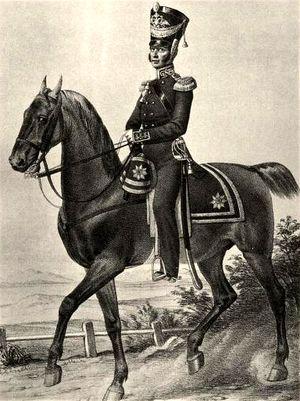 Штаб офицер Гвардейского экипажа. 1824–1825гг. Из собрания ЦВММ. 3421/40.