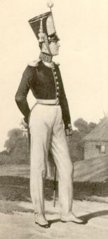 Обер-офицер Гвардейского экипажа. 1835–1843гг. Из собрания ЦВММ. 3421/53.