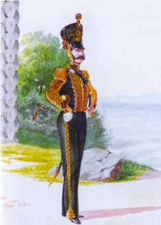Тамбурмажор ГЭ. 1843–1844гг. Из собрания ЦВММ. 3421/56.
