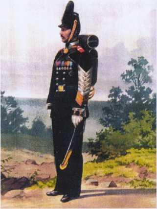 Боцман Безин. Служил с 1810 по 1864гг. Из собрания ЦВММ. 3421/72.