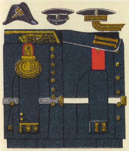 Парадная (береговая) форма. 1907–1908гг.