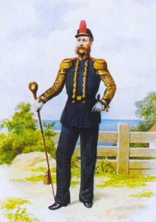 Тамбурмажор ГЭ. 1863–1880гг. Из собрания ЦВММ. 3421/71.