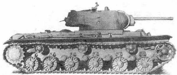 Советский тяжелый танк КВ