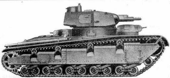 Опытный танк Nb.Fz. с башней Круппа