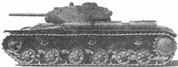 Советский тяжелый танк КВ-1C