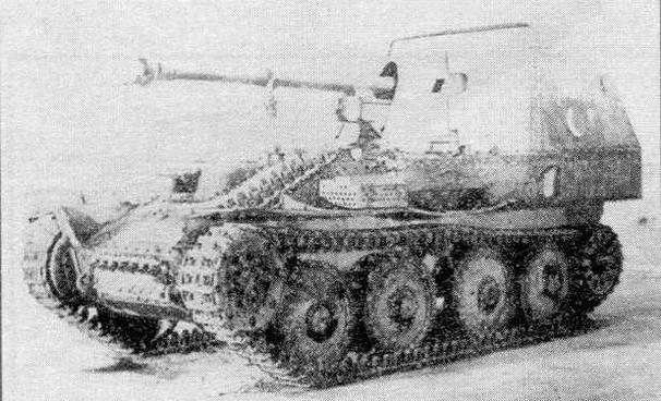 """Немецкая 75-мм САУ """"Мардер III"""""""
