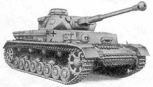 Немецкий средний танк Pz. IV F2