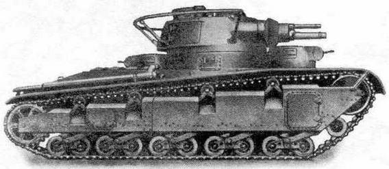 """Опытный танк Nb. Fz. с башней """"Райнметалл"""""""