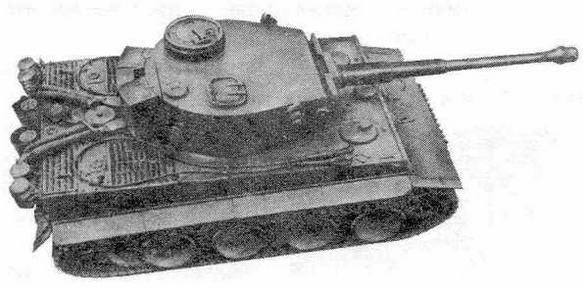 """Тяжелый танк """"Тигр"""""""