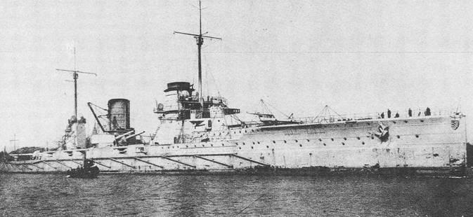 """линейный крейсер """"Зейдлиц"""""""
