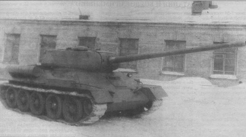 Т-34-100 с орудием ЗИС-100 в увеличенной башне