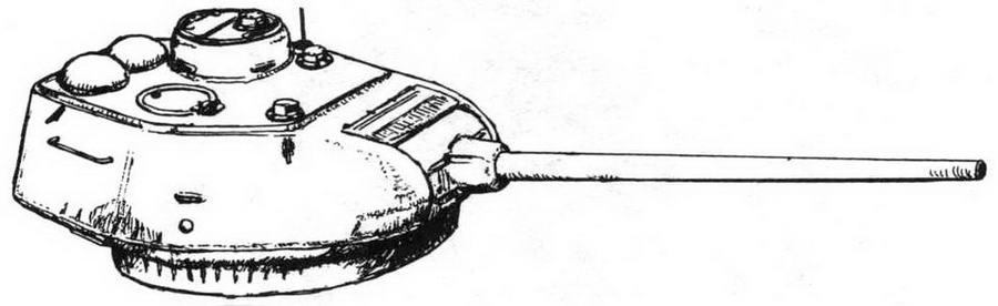 Стандартная башня танка Т-34-85 выпуска осени 1944 года
