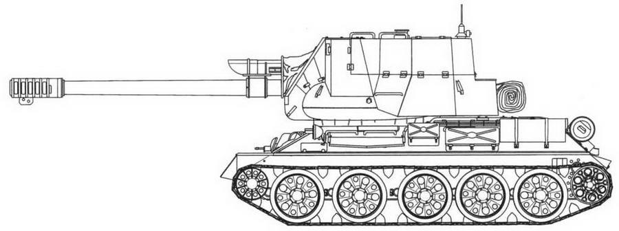 Т-34-122 (египетский)