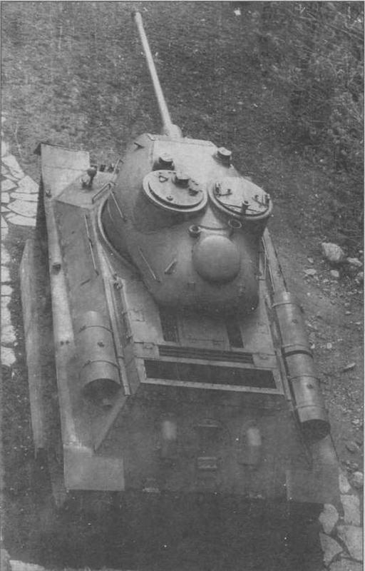 Югославский Teski Tenk Vozilo А в военном музее в крепости Калемегдан в Белграде