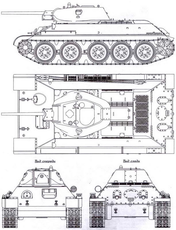 Т-34 выпуска 1942 года, завод М 183