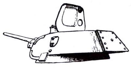 Башня танка Т-34 производства СТЗ конца 1941 — начала 1942 года