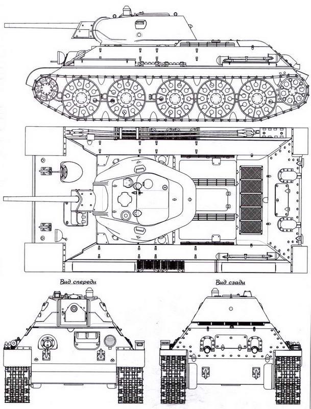 Т-34 выпуска лета 1942 года, завод СТЗ